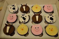 petting zoo birthday cupcakes - Google Search