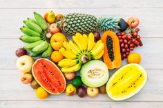 Mixed fruits with apple banana orange and other Free Photo Mixed Fruit, Fresh Fruit, Oven Roasted Chicken Wings, Healthy Fruits, Healthy Recipes, Pork Ribs Grilled, World Vegan Day, Ribs On Grill, Fiber Rich Foods