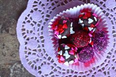 valentine's day truffles By Eat, Live, Run