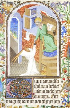 Book of Hours, MS M.453 fol. 16v - Images from Medieval and Renaissance Manuscripts - The Morgan Library & Museum