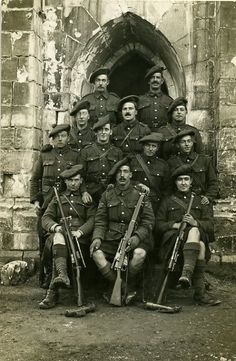 9th Batn snipers Arras Cathederal 1917.: