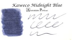 Kaweco Midnight Blue Ink (30ml Bottle) Fountain Pen Ink