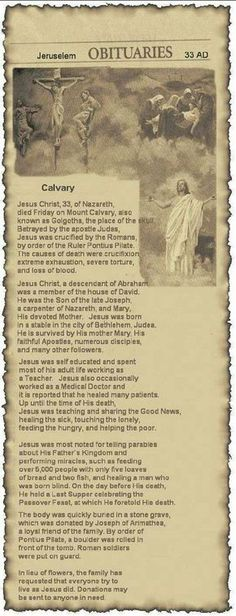 "OBITUARY – ""I have not seen one like this before!"" Pass this on that all will know Jesus.Pass this on that all will know Jesus. Christian Life, Christian Quotes, Inspirational Christian Stories, Way Of Life, The Life, Bible Scriptures, Bible Quotes, Image Jesus, Religion"