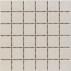 Dot Mounted Speckle Bone 12 in. x 12 in. Unglazed Porcelain Mosaic Floor & Wall Tile-U305DM-12 at The Home Depot