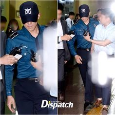 T.O.P Leaving Gangnam Police Station - bigbangupdates