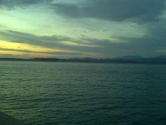 Amanecer en la bahía de Santander