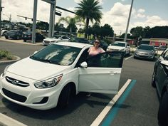 """Billy did a great job!"" Thank you Linda Lacharite! We are happy to hear Billy could be so helpful during your experience! We hope you are enjoying your brand new 2015 Hyundai Accent and please, if there's anything else we can do, don't hesitate to ask… We're here to help! #LakelandAutomall #LakelandHyundai #HyundaiAccent #2015Accent #Hyundai"