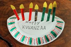 Best craft website!!  Awesome videos and easy to follow directions for the kids!!  Love this one for Kwanzaa...