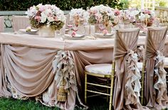 best wedding chair backs & linens - Google Search