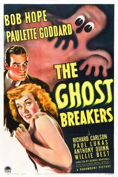 £2.94 GBP - The Ghost Breakers B-Movie Reproduction Art Print A4 A3 A2 A1 #ebay #Collectibles