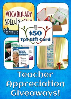 Teachers ... You Are So Appreciated!