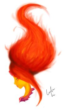 Flame princess, adventure time with fin and Jake