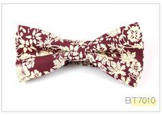 Aliexpress.com: Comprar Nuevo 2016 Formal pajarita comercial para hombre moda impresión Floral de algodón hombre pajaritas para el partido accesorios de negocios del Bowtie corbata de auriculares caramelo fiable proveedores en GEMAY MALL-No.1 Store
