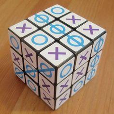 Tik-Tac-Toe Cube – 3x3x3 Rubik's Cube