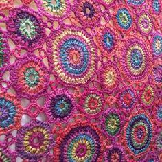 Kissing Kaffe Crochet Blanket by Amanda Perkins