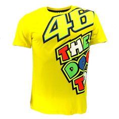Moto GP luna 46 VALENTINO ROSSI M1 FORTYSIX VR46 46 Der Arzt T-Shirt Racing Sport Motor Gelb t-shirt