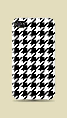 Classy Style // Houndstooth printed Hard Case #iphone #samsung
