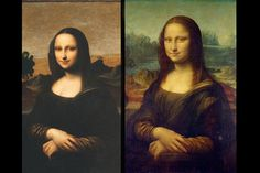 A possible earlier, younger Mona Liss by Da Vinci?? Art historians think so. .