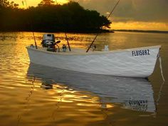 Perfect for the first time builder, this Fast Skiff plan will get you out into the water in no time. Get the plan with a fiberglass kit at Bateau. Building A Dock, Boat Building Plans, Canoe Plans, Boat Plans, Plywood Boat, Hobbies For Women, Study Plans, Tug Boats, Small Boats