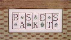 baskets cross stitch patterns and kits Cross Stitch Designs, Cross Stitch Patterns, Needlework Shops, All Design, Kit, Baskets, Frame, Hobbies, Chart