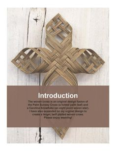 Primitive Country Crafts, Palm Cross, Snow Flakes Diy, Cross Crafts, Art And Craft Design, Palm Sunday, Nature Crafts, Art Crafts, Paper Crafts