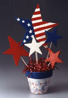 July 4th DIY Decorating Ideas   ... 4th of july easy table decorations for 4th of july independence day