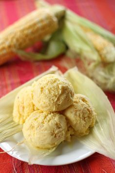 Sweet Corn Ice Cream | I had posted several uniquely flavoured Filipino ice creams in the past like the cheese ice cream and purple yam but it does not stop there as there are a lot of unusual flavours that we can use like this sweet corn ice cream. @angsarap #summerfood