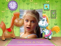Collages infantiles para la Noche de Reyes.