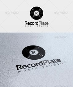 Record Plate Logo