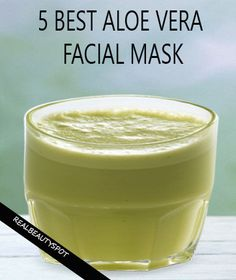 Top 5 aloe vera face mask - help reduce dark spots, scars, even out skin tone and blemishes on your face, and even help minimize stretch marks for healthy radiant skin.