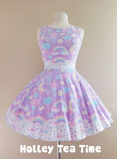 pastel goth, fairy kei dress - holleyteatime on store envy