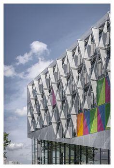 Campus Kolding, Universidad del Sur de Dinamarca, Kolding, Dinamarca - Henning Larsen Architects - © Jens Lindhe
