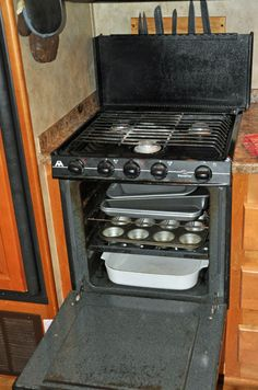 Fabulous Come take a tour of our RV kitchen and learn about how we organize it
