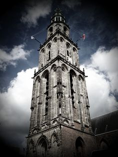 Martinitower, Groningen, The Netherlands. My town, my tower.