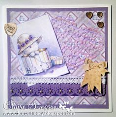 Clairebears x featuring Barkley from #crafterscompanion