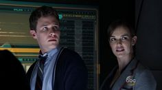 Iain De Caestecker and Elizabeth Henstridge as Fitz/Simmons in Marvel's Agents of S.H.I.E.L.D.