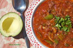 One Pot Paleo Chili  #justeatrealfood #grassfedgirl