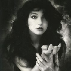 Kate Bush circa The Sensual World...listen to her music!