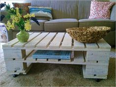 DIY Table Top Ideas | Home Ideas , DIY Wood Pallet – 20 Creative Furniture Idea : Diy ...