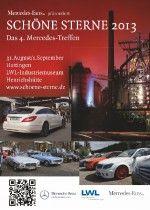 Das Mercedes-Treffen: SCHÖNE STERNE 2013 in Hattingen Mercedes Benz, E63 Amg, Online Magazine, Car Videos, Cool Cars, Autos, Reunions, Stars, Cards