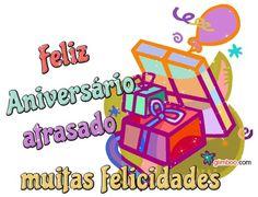 Feliz Aniversário atrasado! Muitas Feliciades!  #felicidades #feliz_aniversario #parabens