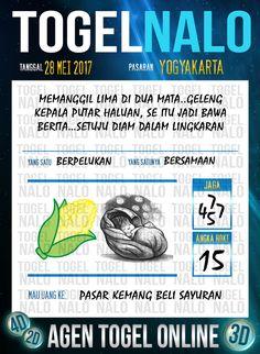 Pakong JP 6D Togel Wap Online TogelNalo Yogyakarta 28 Mei 2017