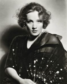 """Mysterious Marlene Dietrich, born Marie Magdalene Dietrich on December 27, 1901 in Berlin, Germany. Jean Cocteau had this to say about Marlene, """"whoever knows her and has been able to experience her has experienced perfection itself."""""""