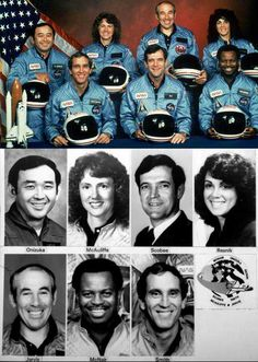 there was a collective gasp as Americans watched the space shuttle Challenger break apart just 73 seconds after it lifted off from Florida on what was supposed to be a mission of discovery and education. Christa Mcauliffe, Nasa Lies, Space Shuttle Challenger, Project Mercury, Space Shuttle Missions, Nasa Space Program, Nasa Astronauts, Nasa Planets, Nasa Photos