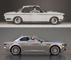 Design : La BMW CS revisitée par David Obendorfer