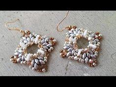 ▶ DIY - Modulo Cristina per orecchini, bracciali, collane - YouTube