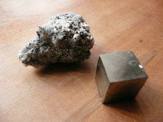 an ore [iron pyrites]
