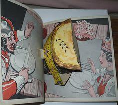 Vtg 1934 The Pop Up Mother GOOSE Children's Book by Harold Lentz VG Popups | eBay