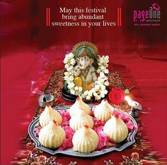 May you be blessed with all the ingredients required to lead a good life. Happy #GaneshChaturthi!