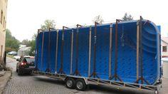 Odvoz bazénu 8x3x1.5 Trucks, Vehicles, Truck, Track, Car, Vehicle